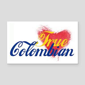 True Colombian ... Rectangle Car Magnet