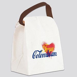 True Colombian ... Canvas Lunch Bag