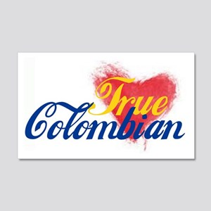True Colombian ... 20x12 Wall Decal