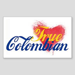 True Colombian ... Sticker (Rectangle)