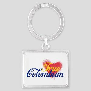 True Colombian ... Landscape Keychain