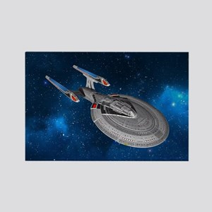 STARTREK 1701E STARRY SPACE Magnets