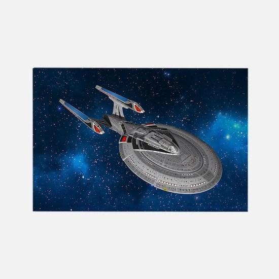 STARTREK 1701E STARRY SPACE Magnets