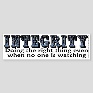 Integrity - Sticker (Bumper)