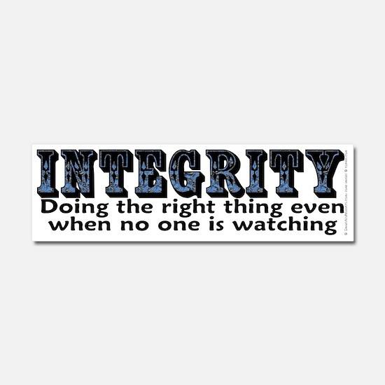 Integrity - Car Magnet 10 x 3