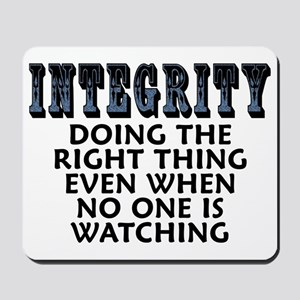 Integrity - Mousepad