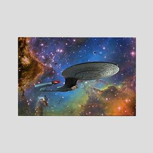 STARTREK 1701D EAGLE NEBULA Magnets
