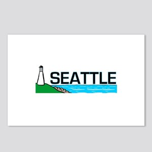 Seattle, Washington Postcards (Package of 8)