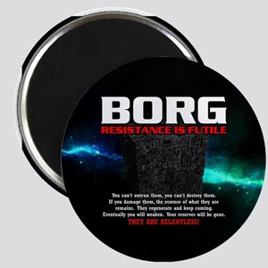 BORG RELENTLESS Magnet