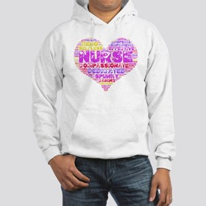 Love a Nurse Hooded Sweatshirt