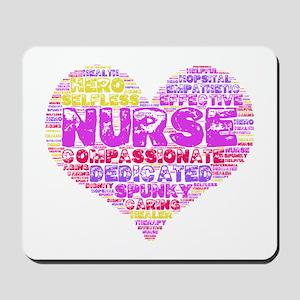 Love a Nurse Mousepad