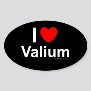 Valium Sticker (Oval)