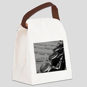Flute Canvas Lunch Bag