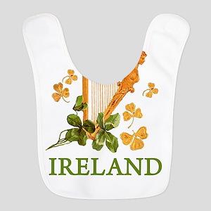 Ireland - Irish Golden Harp Bib