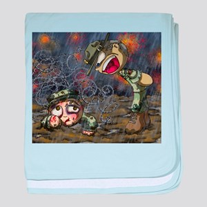 Drill Sergeant baby blanket