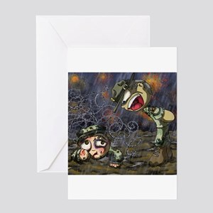 Drill Sergeant Greeting Cards