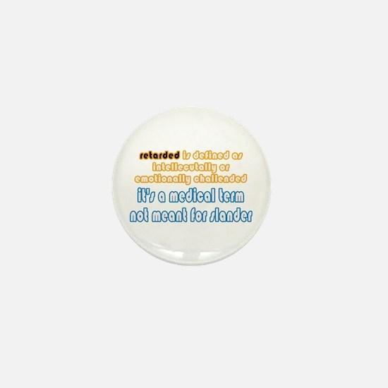 Defined Mini Button