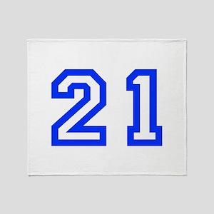 21 Throw Blanket