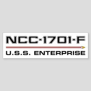 Enterprise-F Bumper Sticker