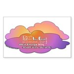Awesome Clouds Sticker