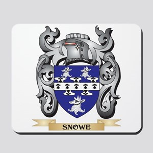 Snowe Coat of Arms - Family Crest Mousepad