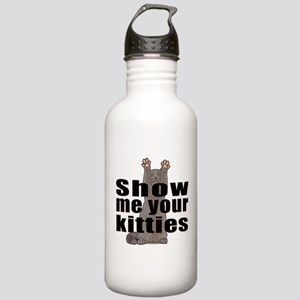 Show Me Your Kitties Water Bottle