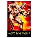 JAY CUTLER Large Poster
