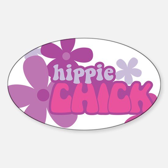 Hippie Chick Decal