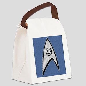 STARTREK TOS DENIM BLUE Canvas Lunch Bag
