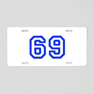 69 Aluminum License Plate