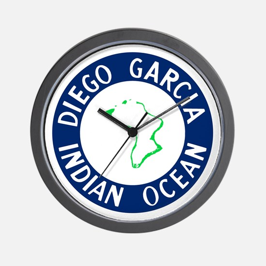 Cute Diego garcia Wall Clock
