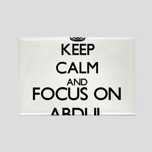 Keep Calm and Focus on Abdul Magnets