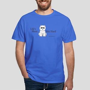 Life's Short Westie Dark T-Shirt
