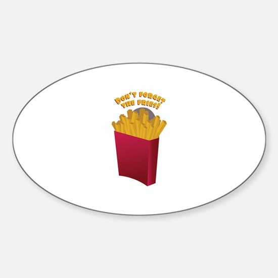 The Fries Decal