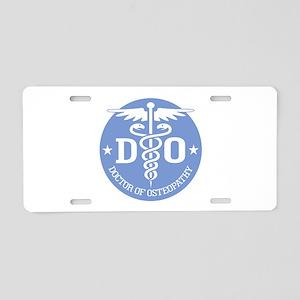 DO Aluminum License Plate