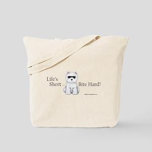 Life's Short Westie Tote Bag