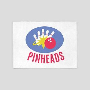 Pinheads 5'x7'Area Rug