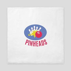 Pinheads Queen Duvet