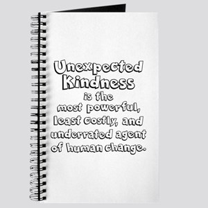 UNEXPECTED KINDNESS Journal