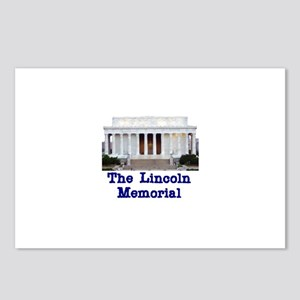 The Lincoln Memorial Postcards (Package of 8)