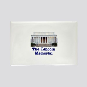 The Lincoln Memorial Rectangle Magnet