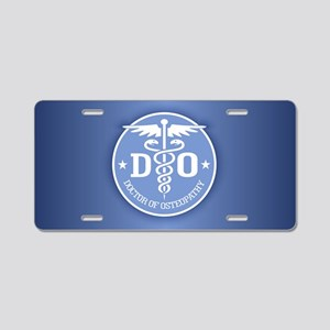 DO Aluminum License Plate