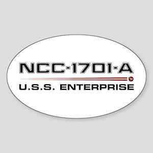 USS Enterprise-A Dark Sticker