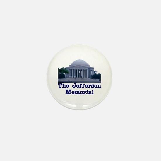 The Jefferson Memorial Mini Button