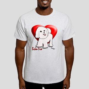 """""""Bichon Cartoon""""  Light T-Shirt"""