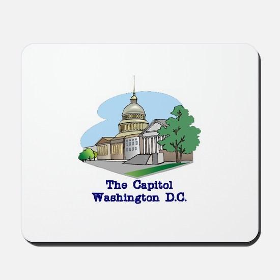The Capitol . . . Washington Mousepad