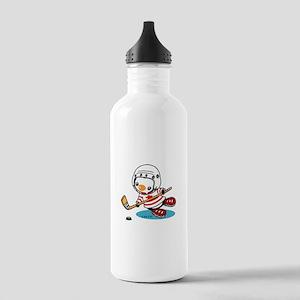 Ice Hockey Penguin (1) Stainless Water Bottle 1.0L