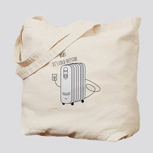 Cold Outside Tote Bag