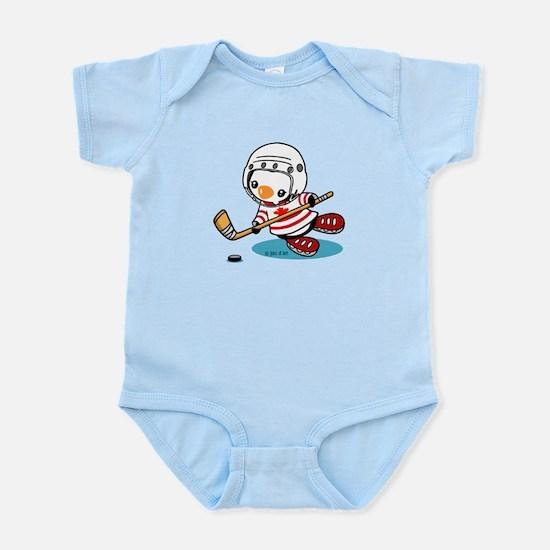 Ice Hockey Penguin (1) Infant Bodysuit