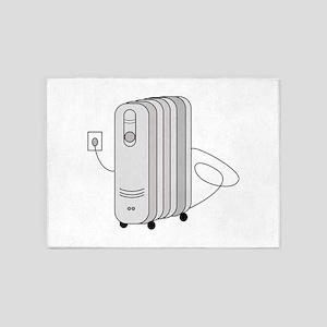 Electric Heater 5'x7'Area Rug